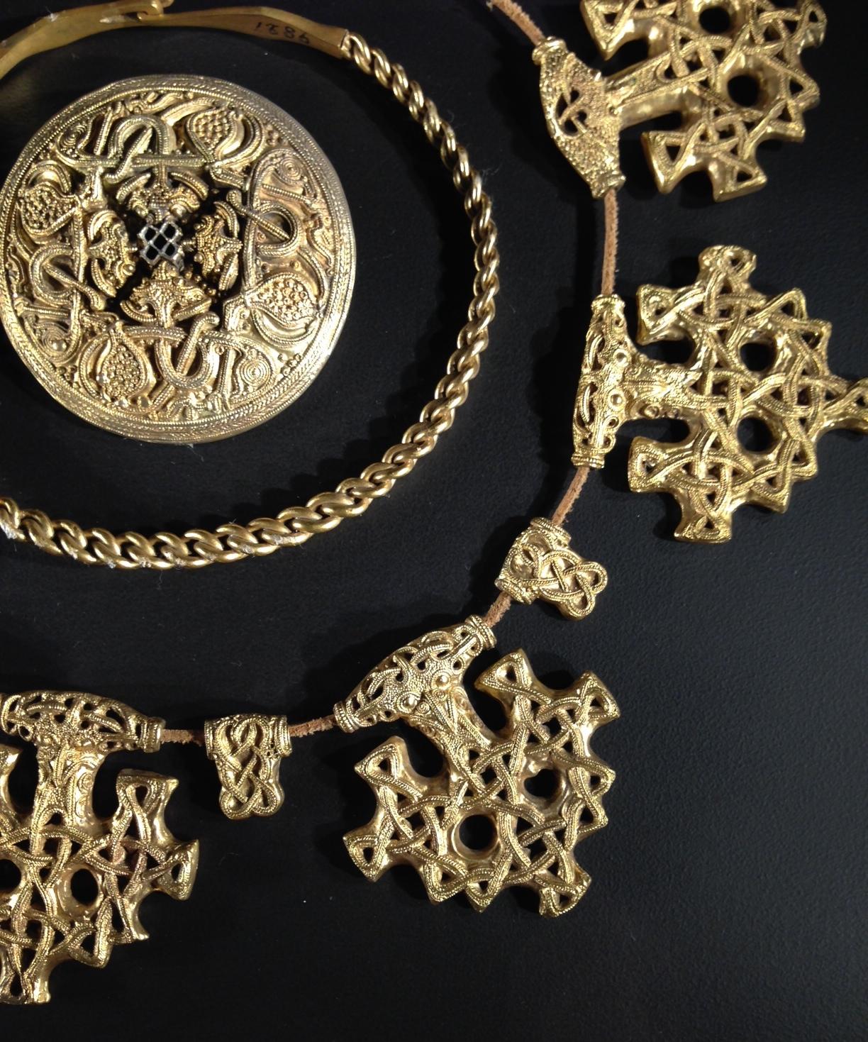 viking exhibition 1 bronze work