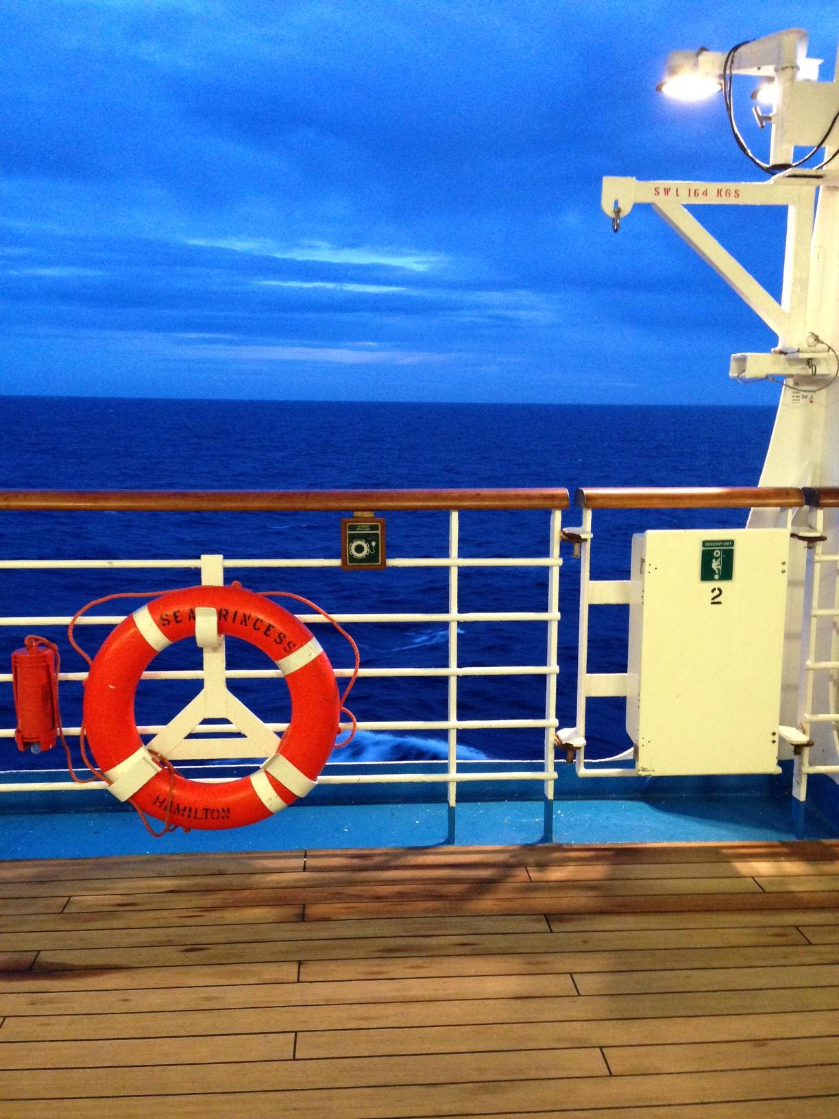 Sea Princess 1 Promenade deck
