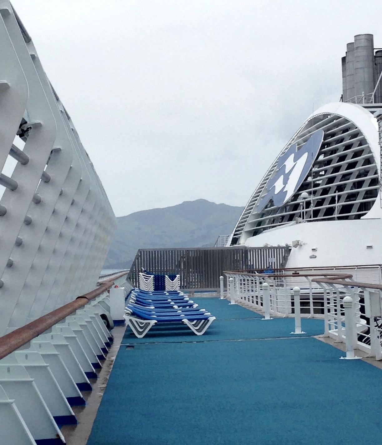 Sea Princess Riviera Deck