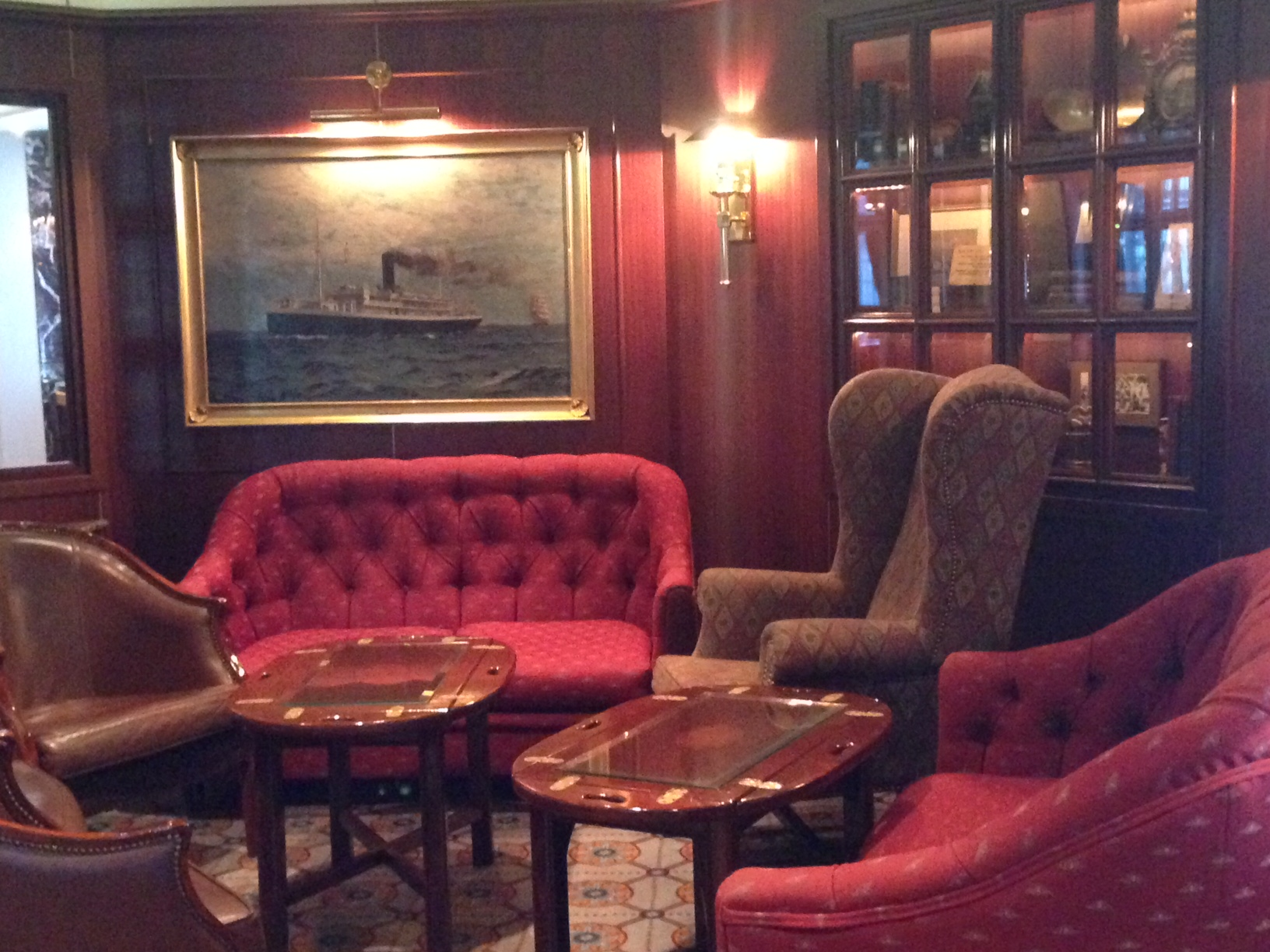 Sea Princess Wheelhouse Bar
