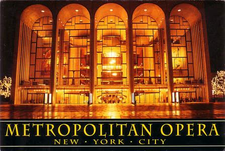 metropolian opera new york