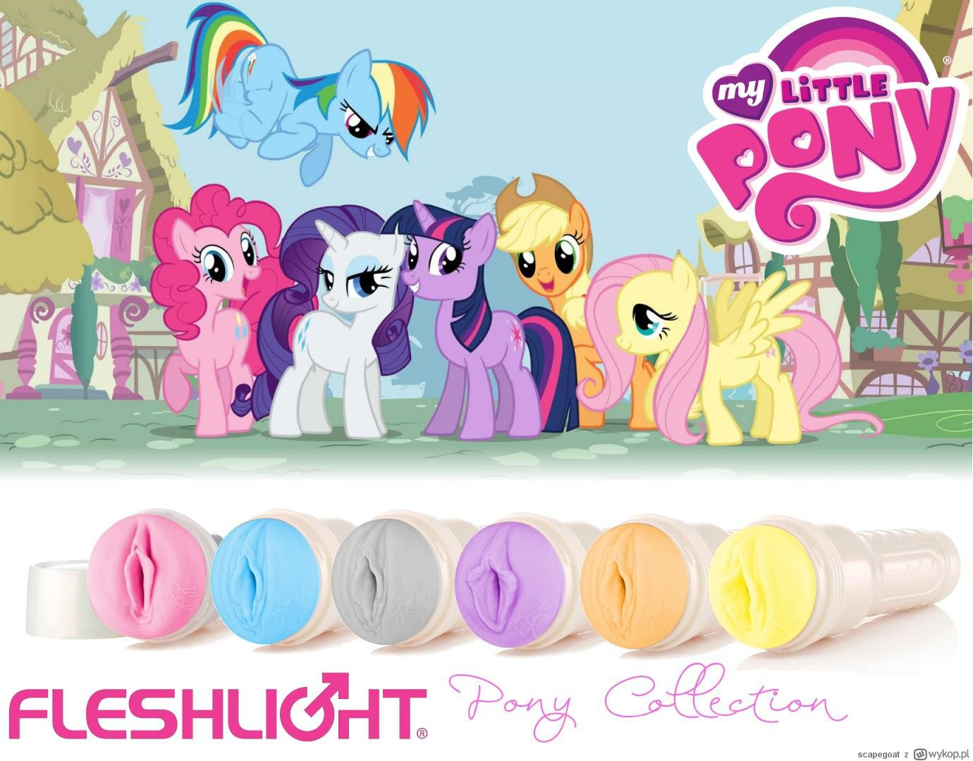my little pony fleshlight collection