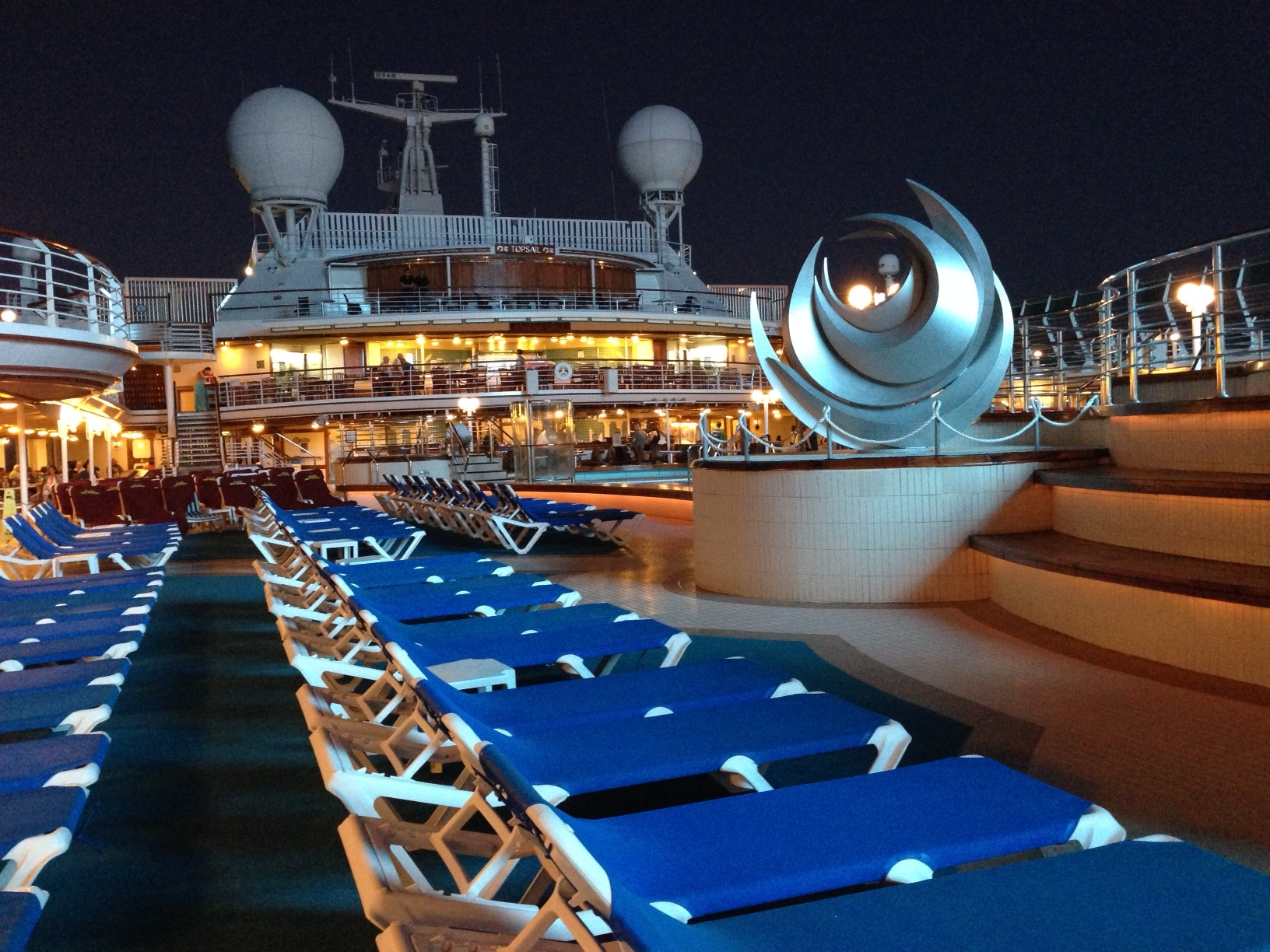 sea princess riviera deck chairs