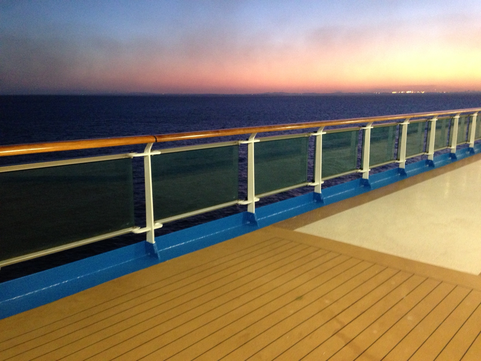sea princess sunset lido deck
