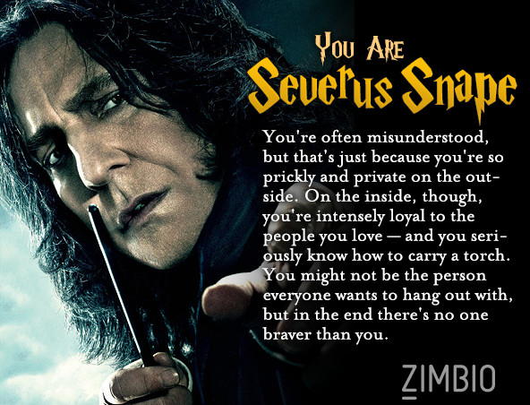 harry potter character are you quiz