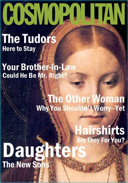 tudor cosmopolitan cover catherine of aragon