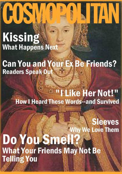 tudor cosmopolitan covers anne of cleeves