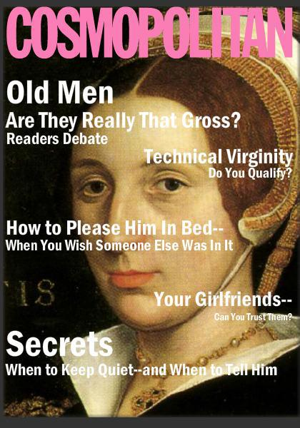 tudor cosmopolitan covers katherine howard
