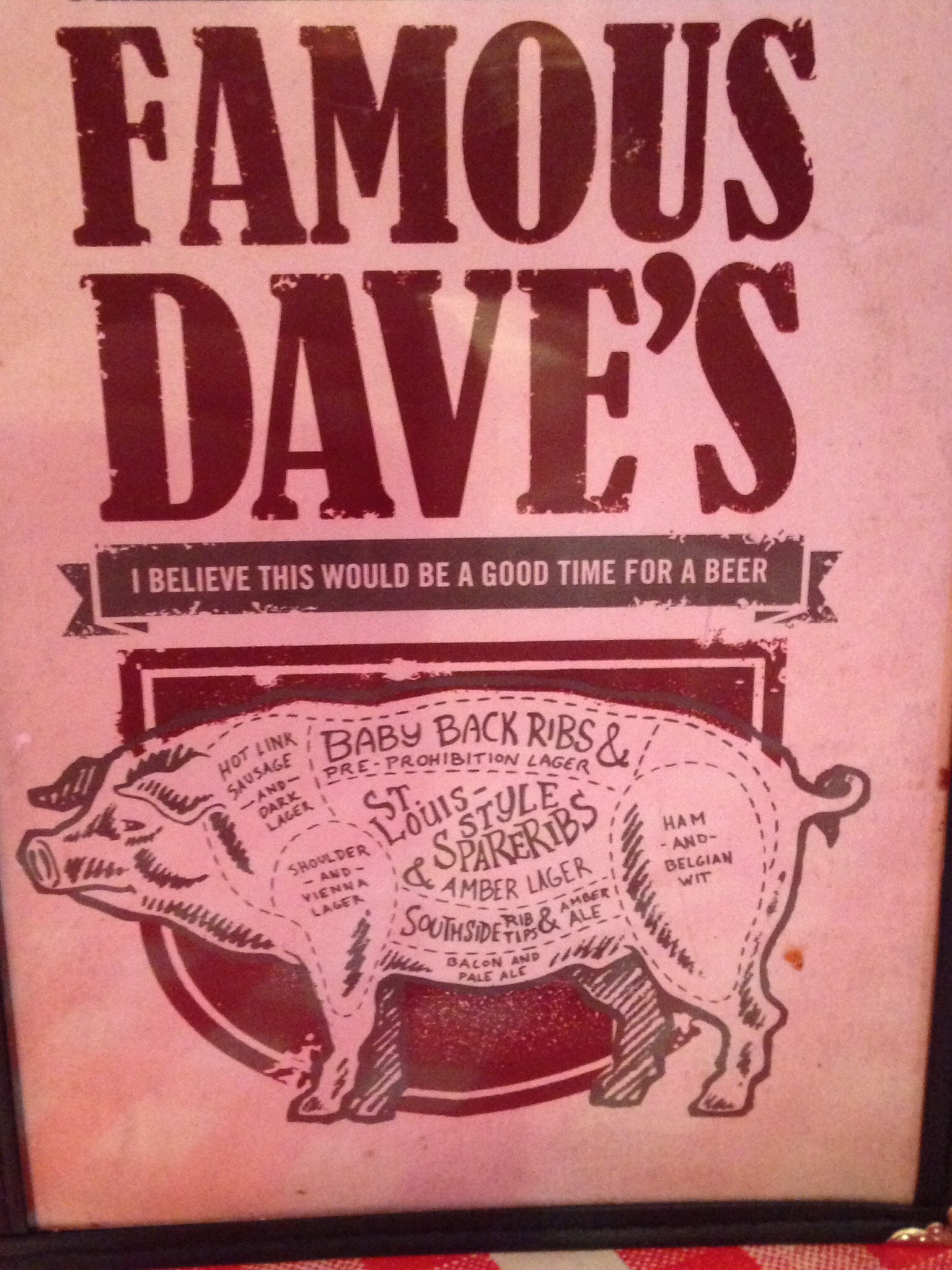 famous dave's cuts