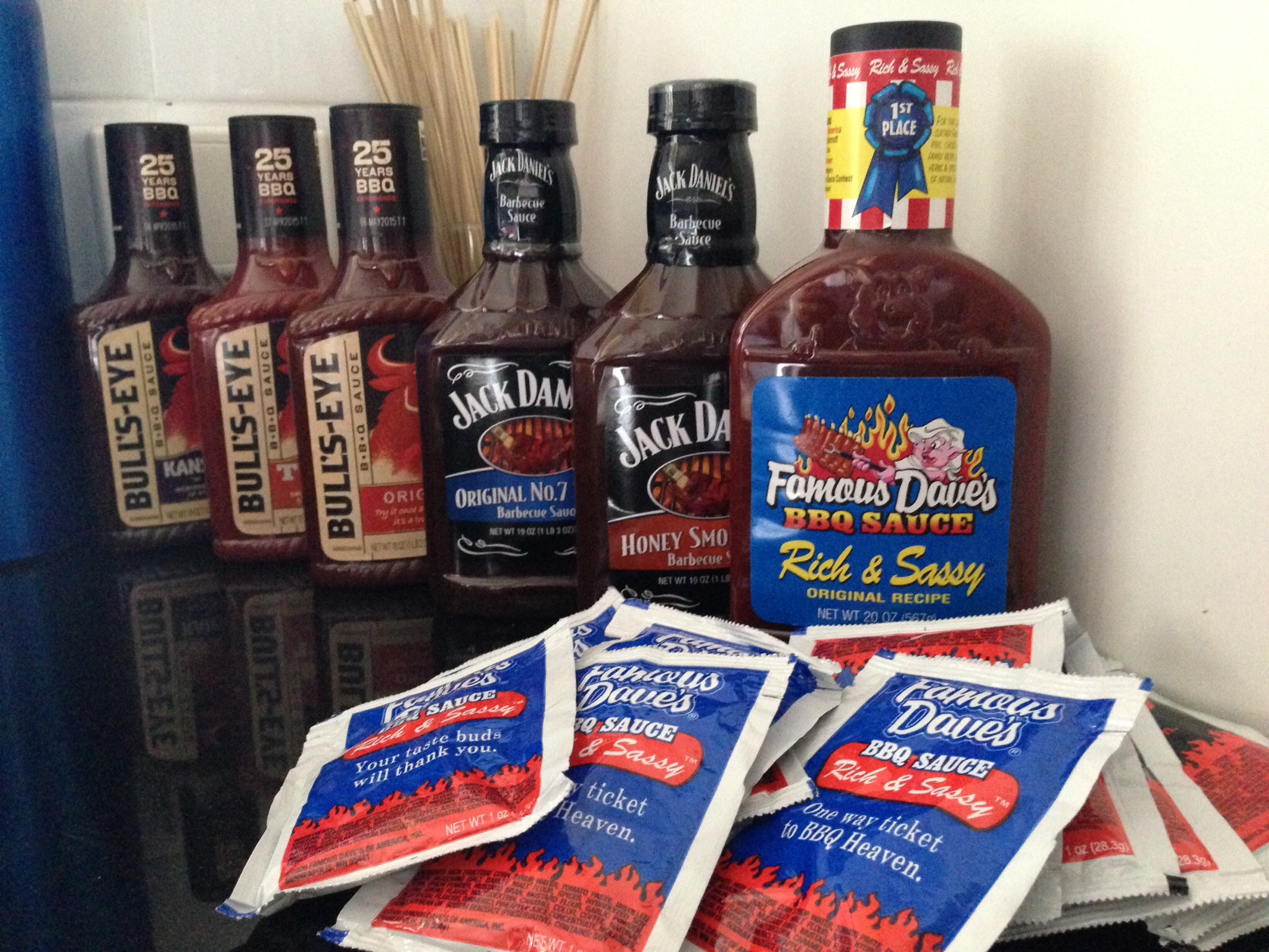 famous daves sauces