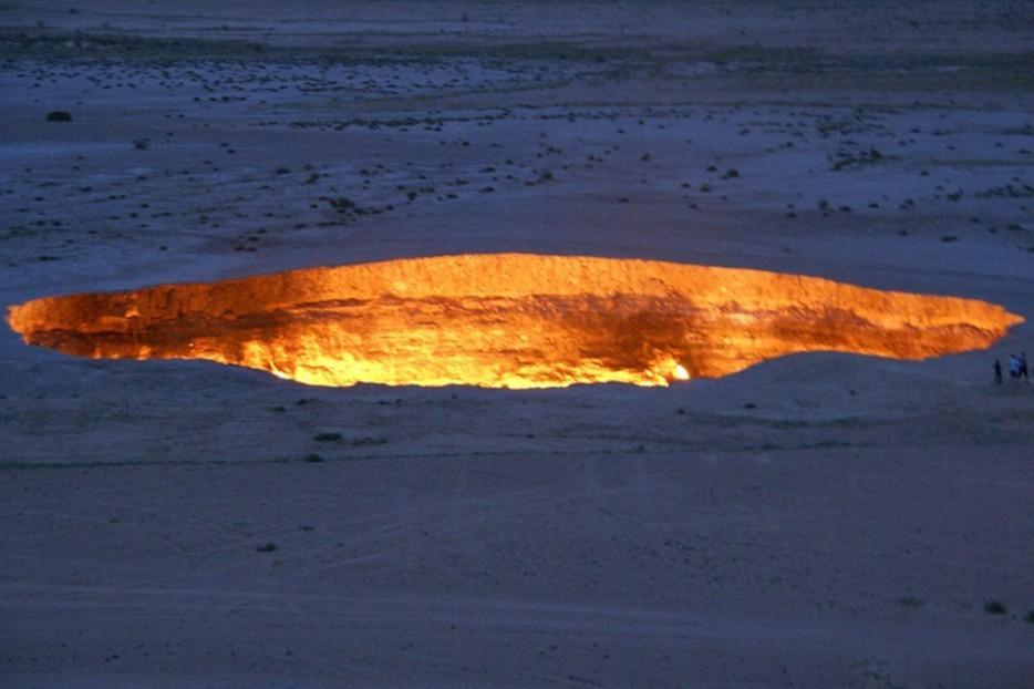 Gateway to hell turkmenistan 1