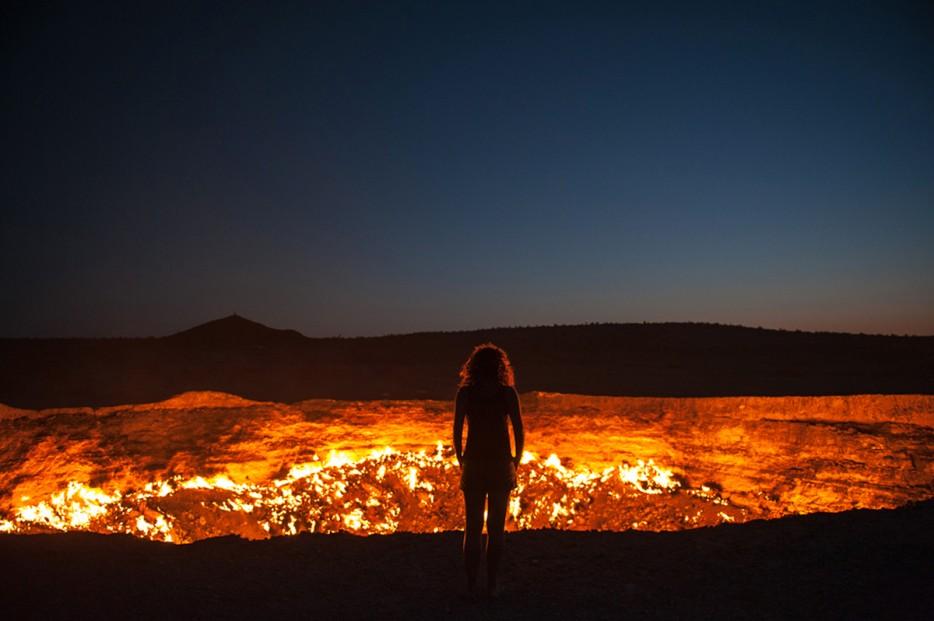 Gateway to hell turkmenistan