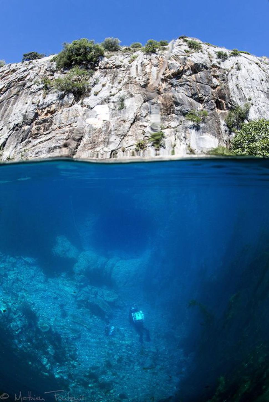 Underwater Mediterranean France