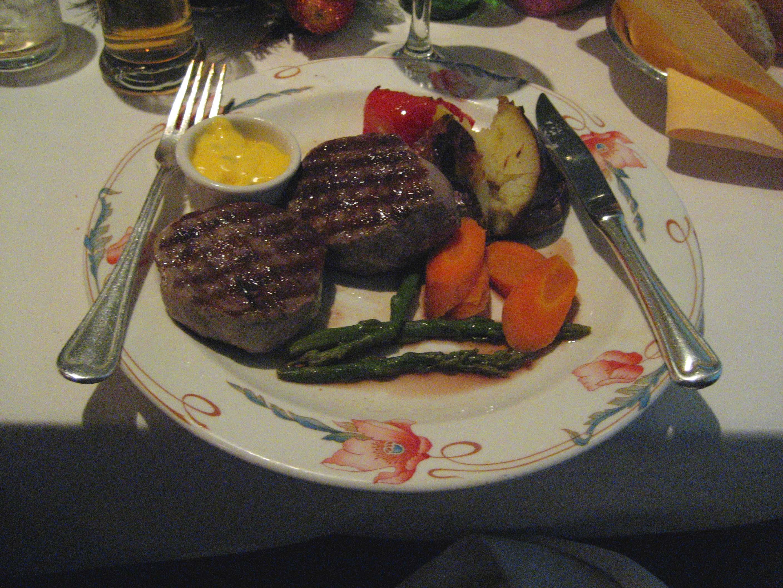 Beef Tournados with Bernaise Sauce