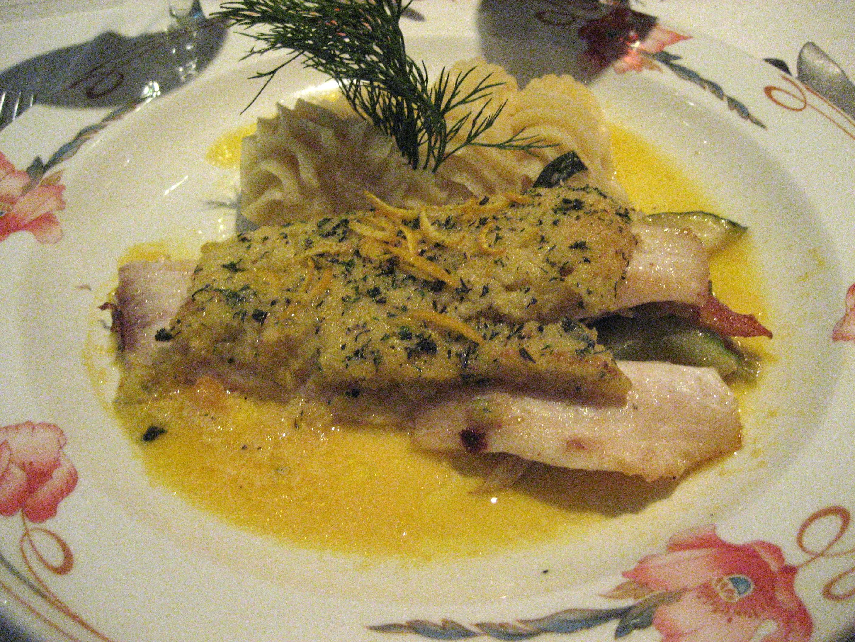 Lemon Herb Crusted Catfish