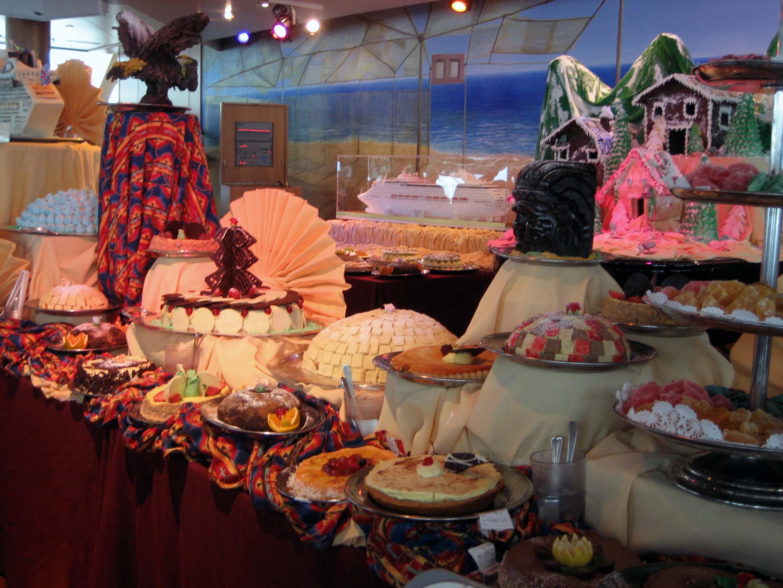 SHorizon pastry buffet 2