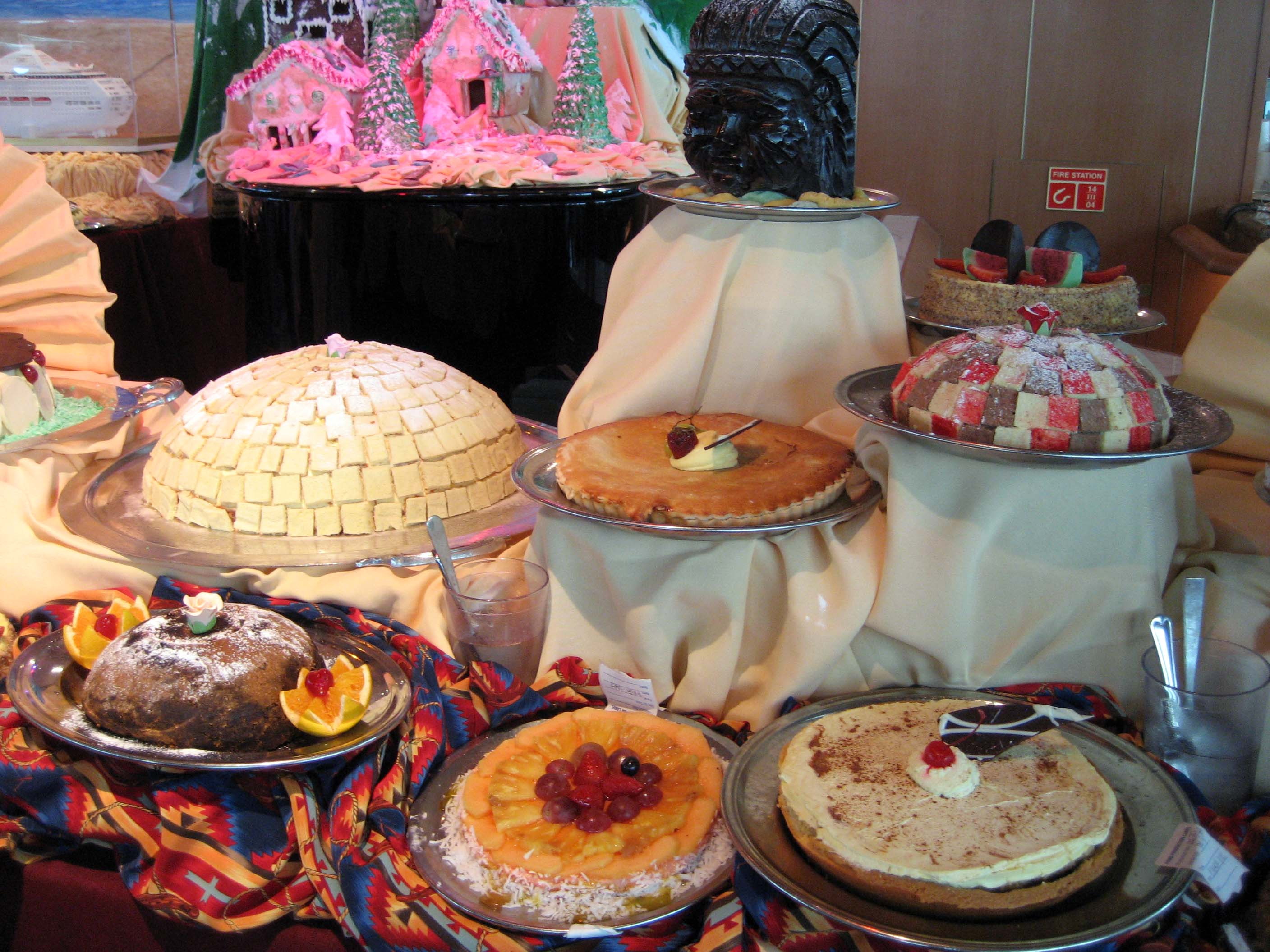 SHorizon pastry buffet 3
