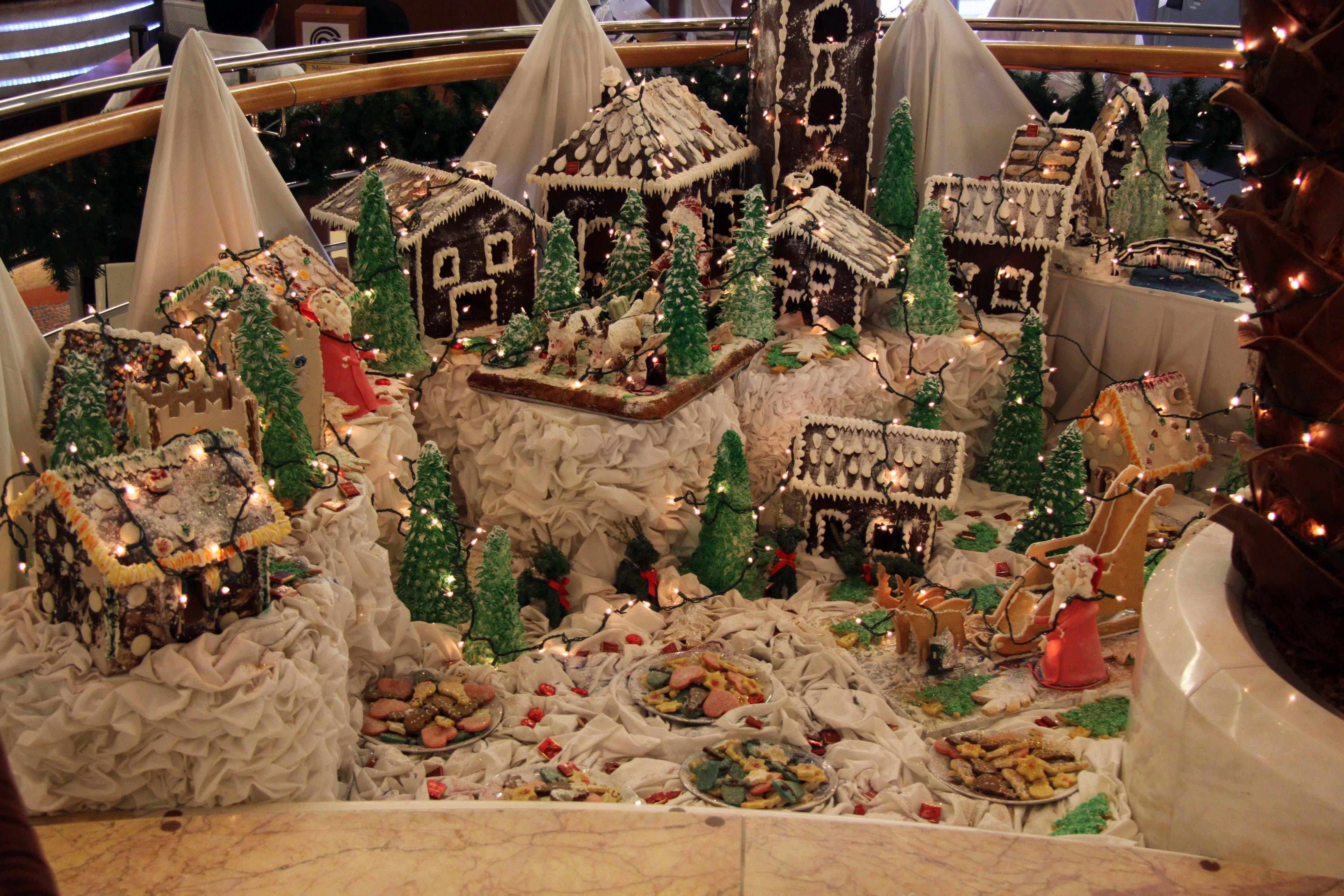 SXmas gingerbread village A9