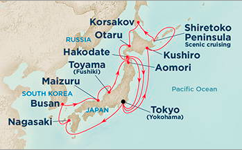 grand japan diamond princess cruise july