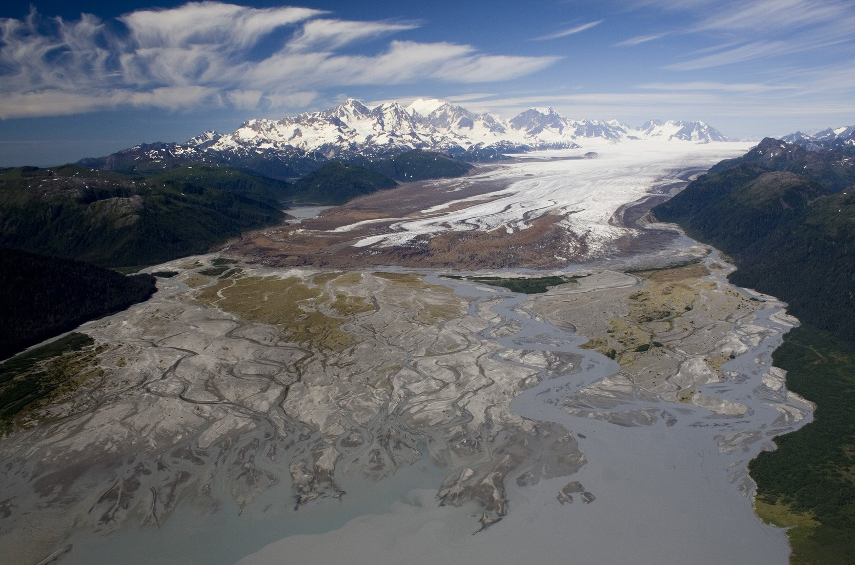 Taylor Bay and the Brady Icefield.
