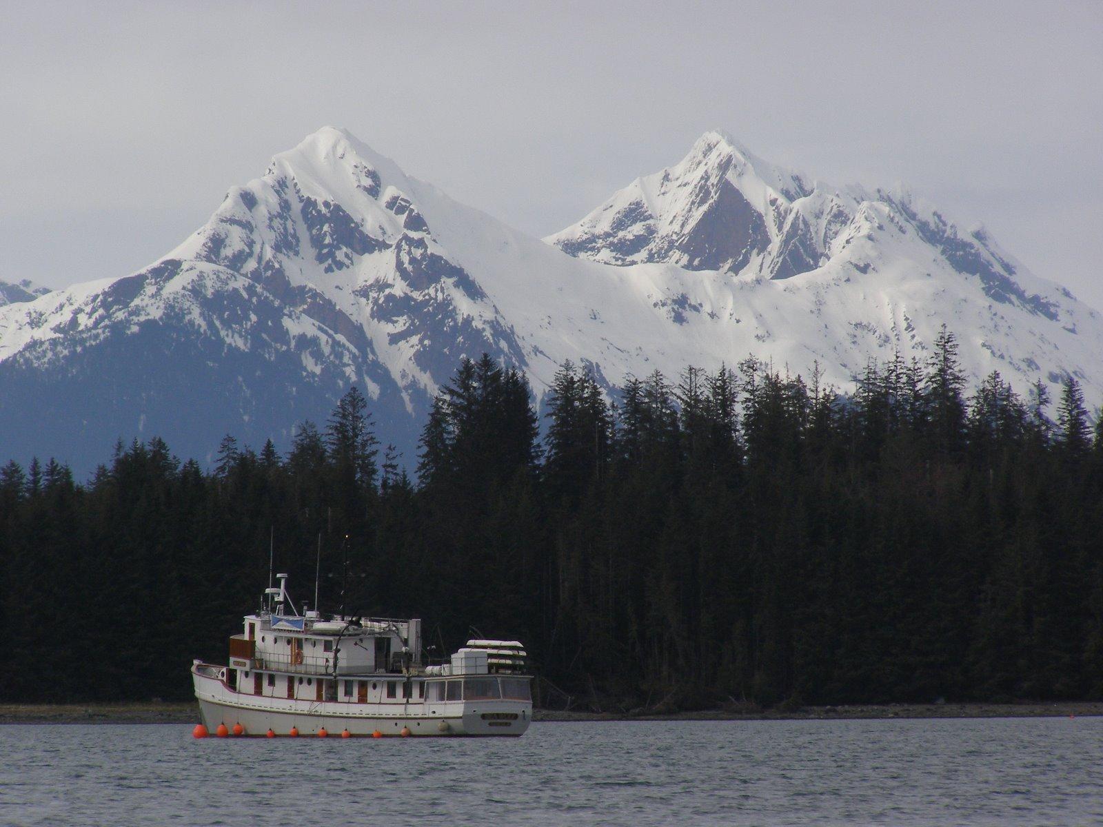 Bartlett Cove fishing boats.