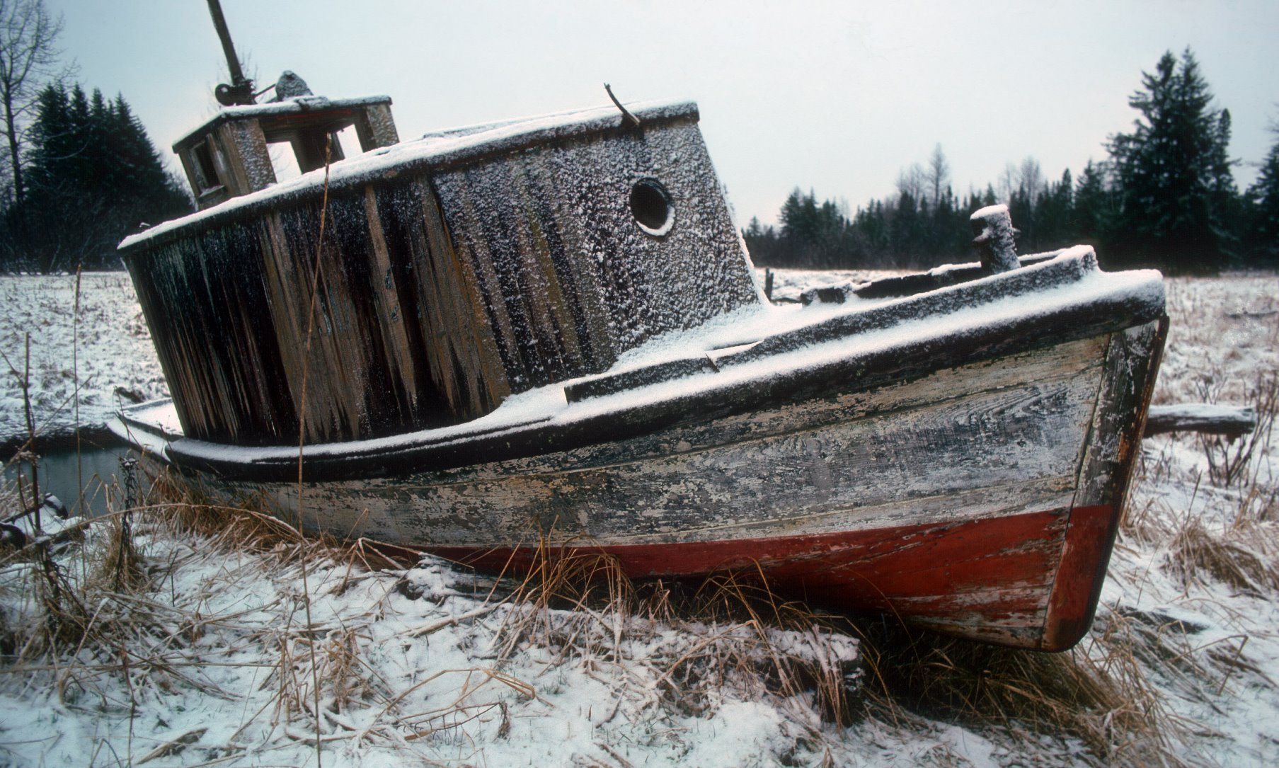 Boats used to explore Glacier Bay - far cry from modern cruise ships.