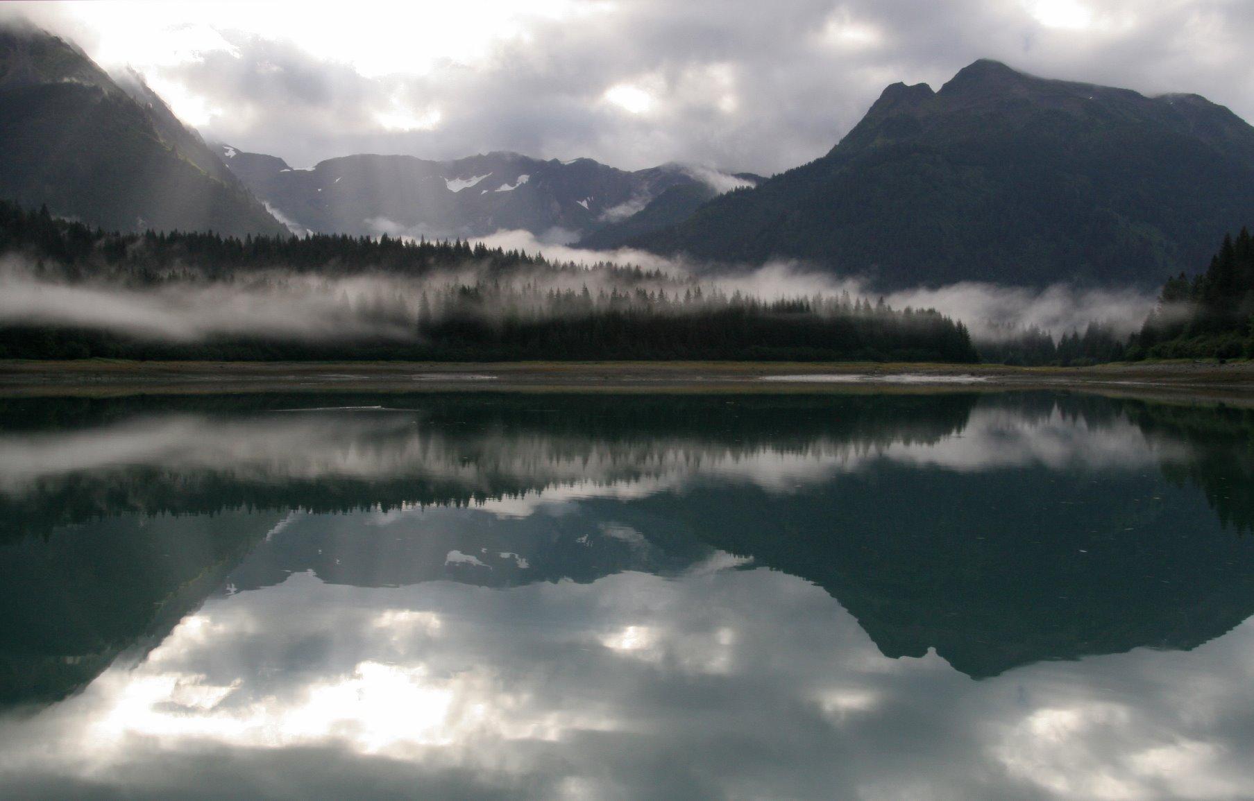Glacier Bay has 800 miles of protected shoreline.
