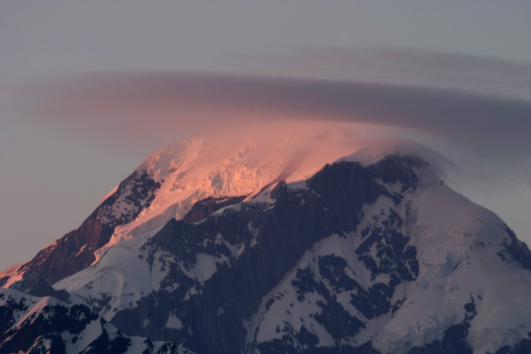 Fairweather Range is one of the tallest mountain ranges on the planet.