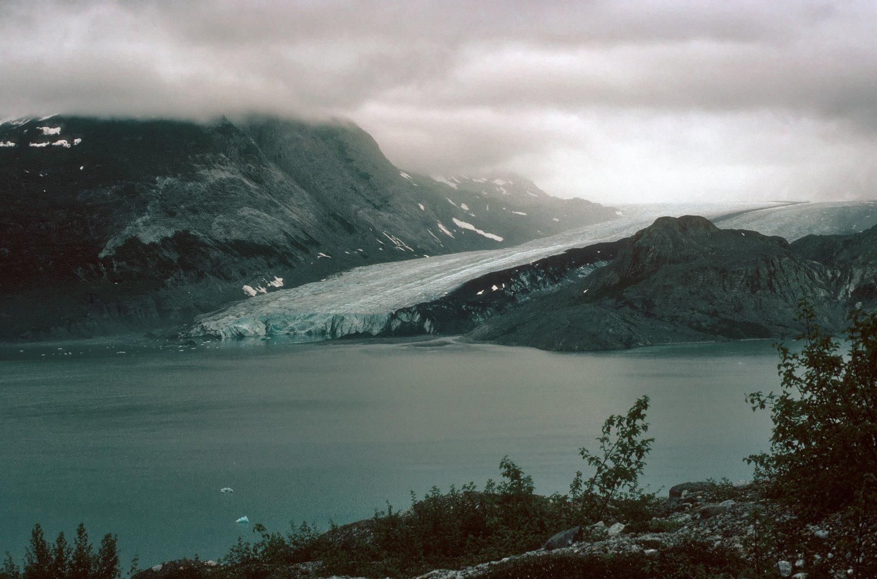 McBride Glacier, July 1976.