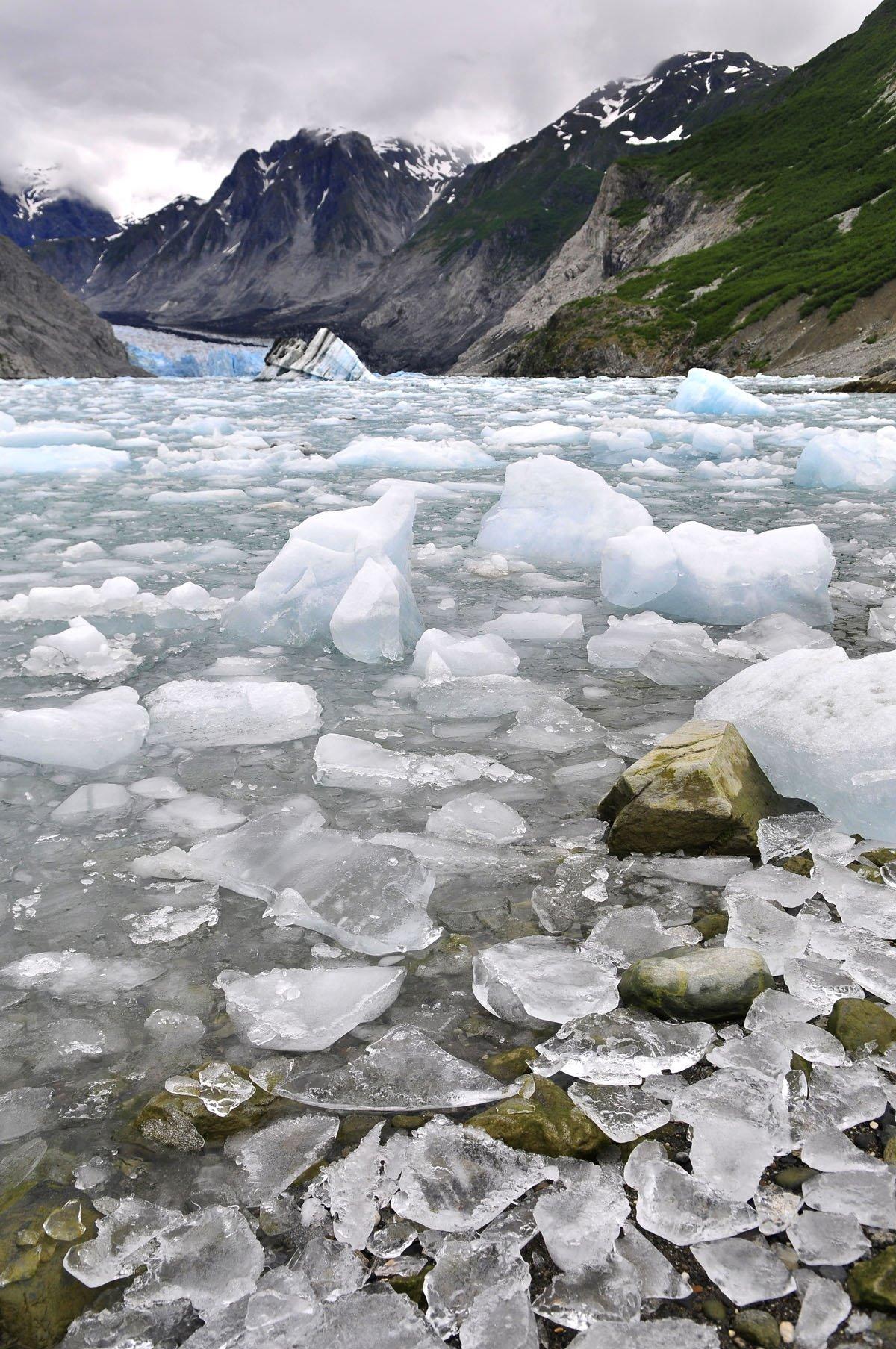 McBride Glacier.