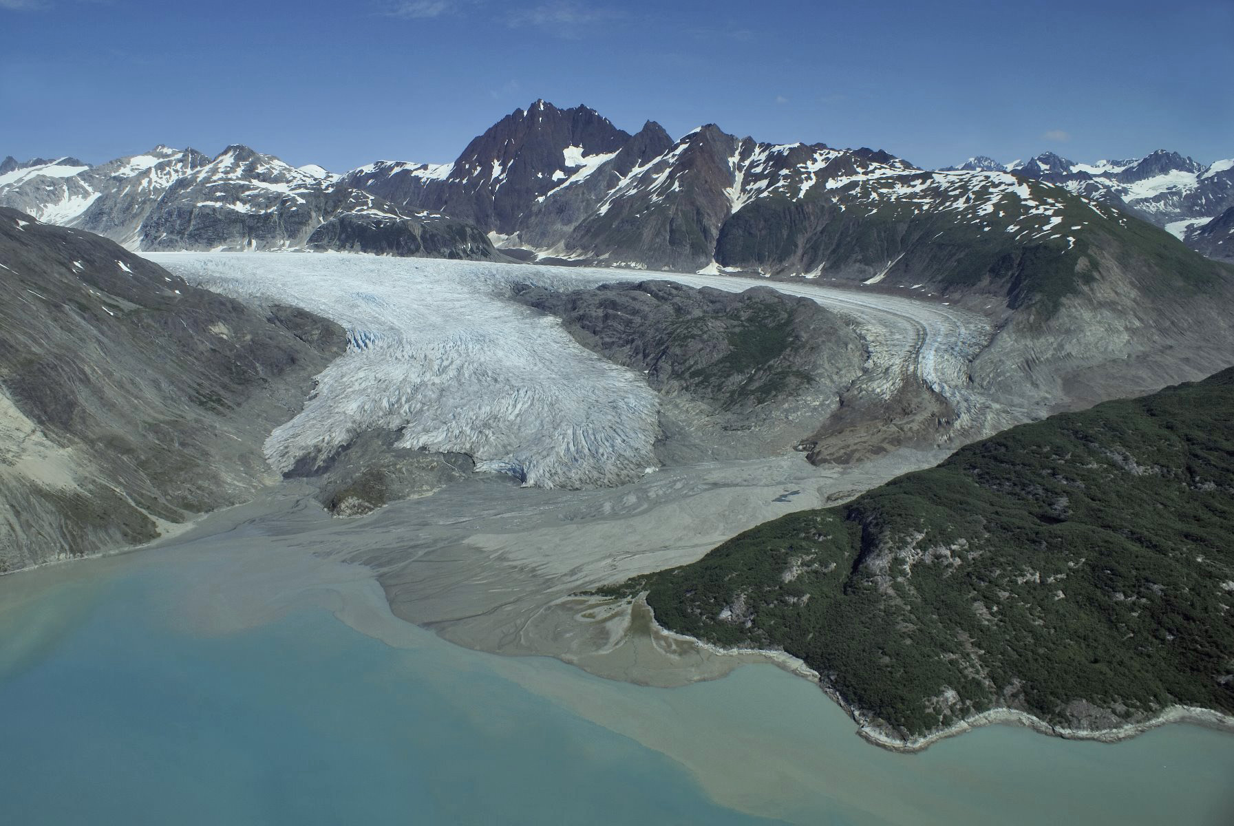 Riggs Glacier on July 19, 2007.