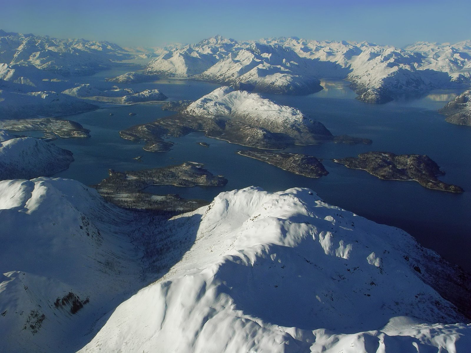 West Arm of Glacier Bay.