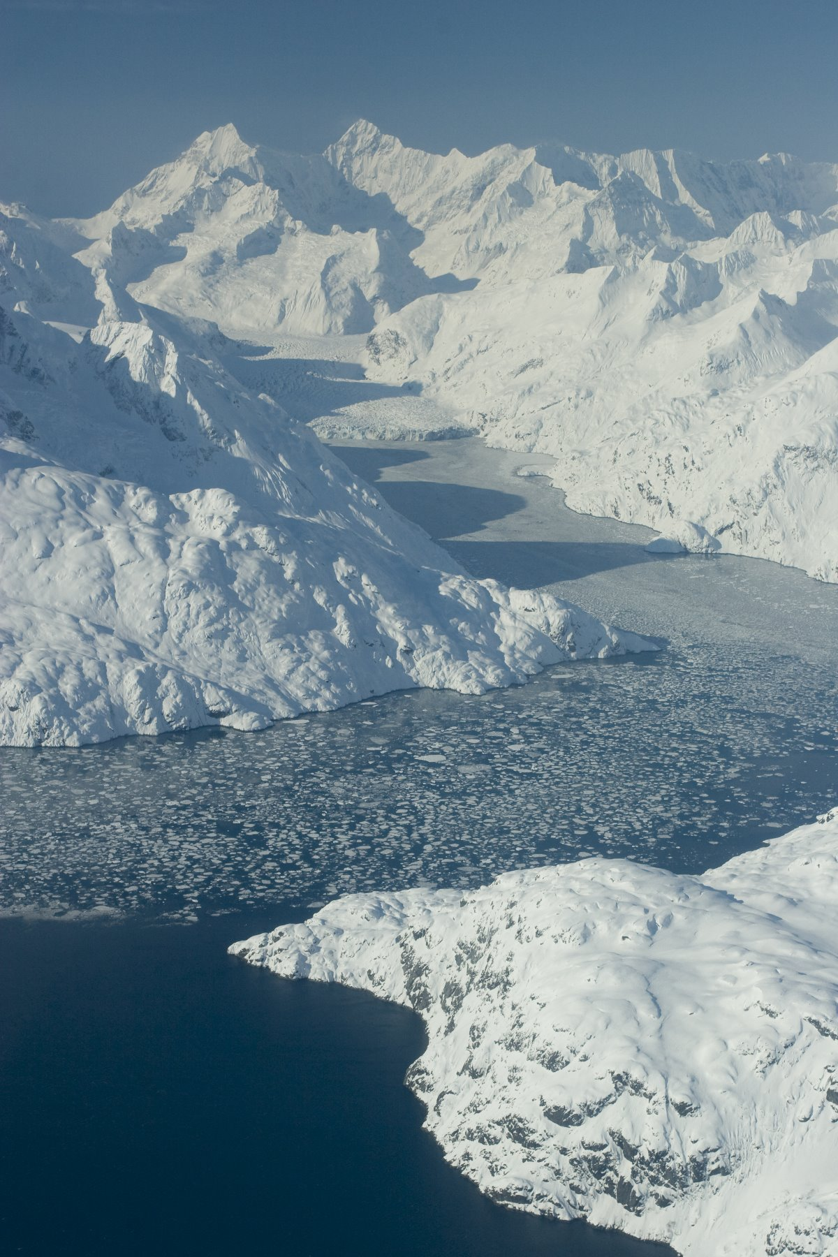 John Hopkins Inlet - winter.