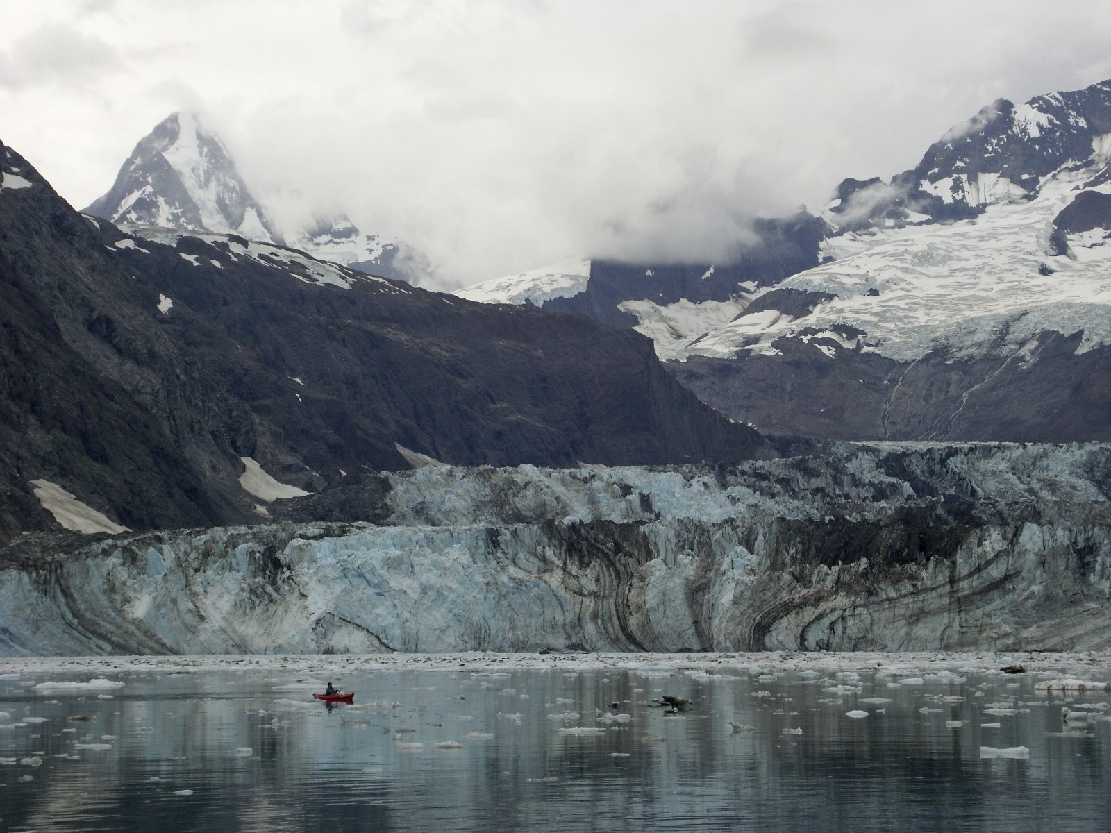 End of Glacier Bay.