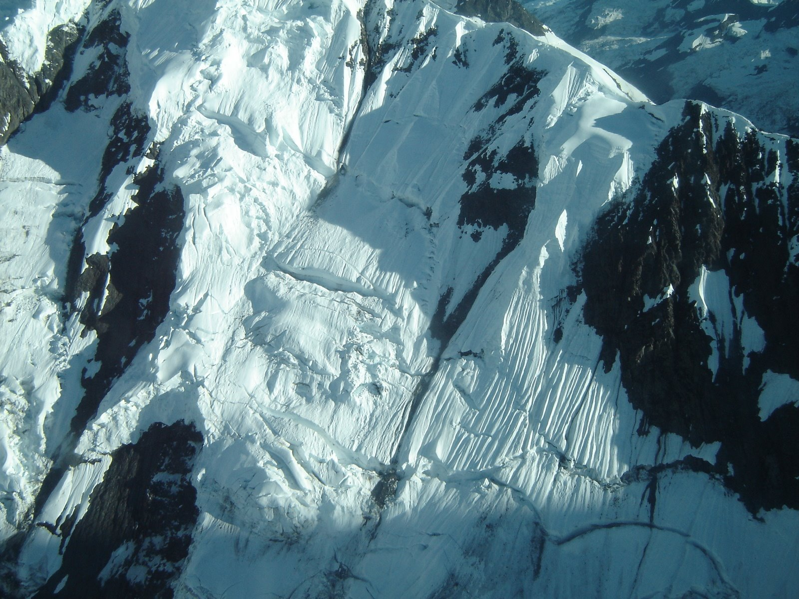 "Arêtes are sharp mountain ridges, said to be ""knife-edged,"" formed by glacial erosion."