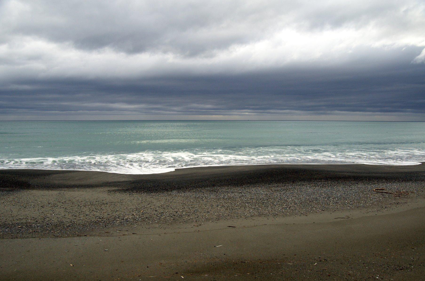 Southeast Alaska is a pallet of grays.