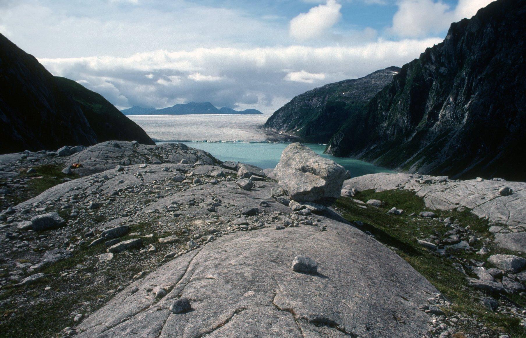 Lakes near Brady Glacier.