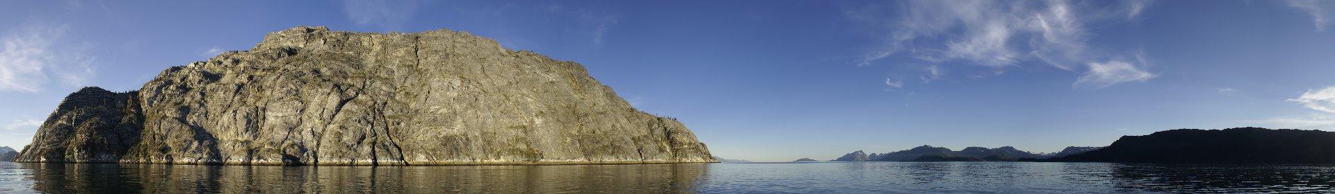 Gloomy Knob, Glacier Bay and the Gilbert Peninsula