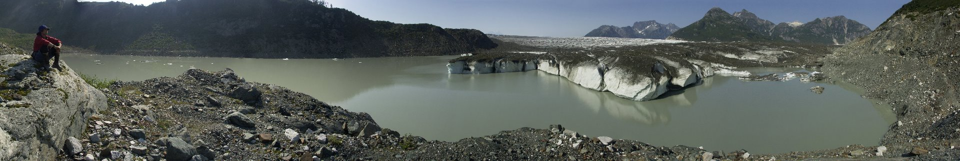 The Brady Glacier