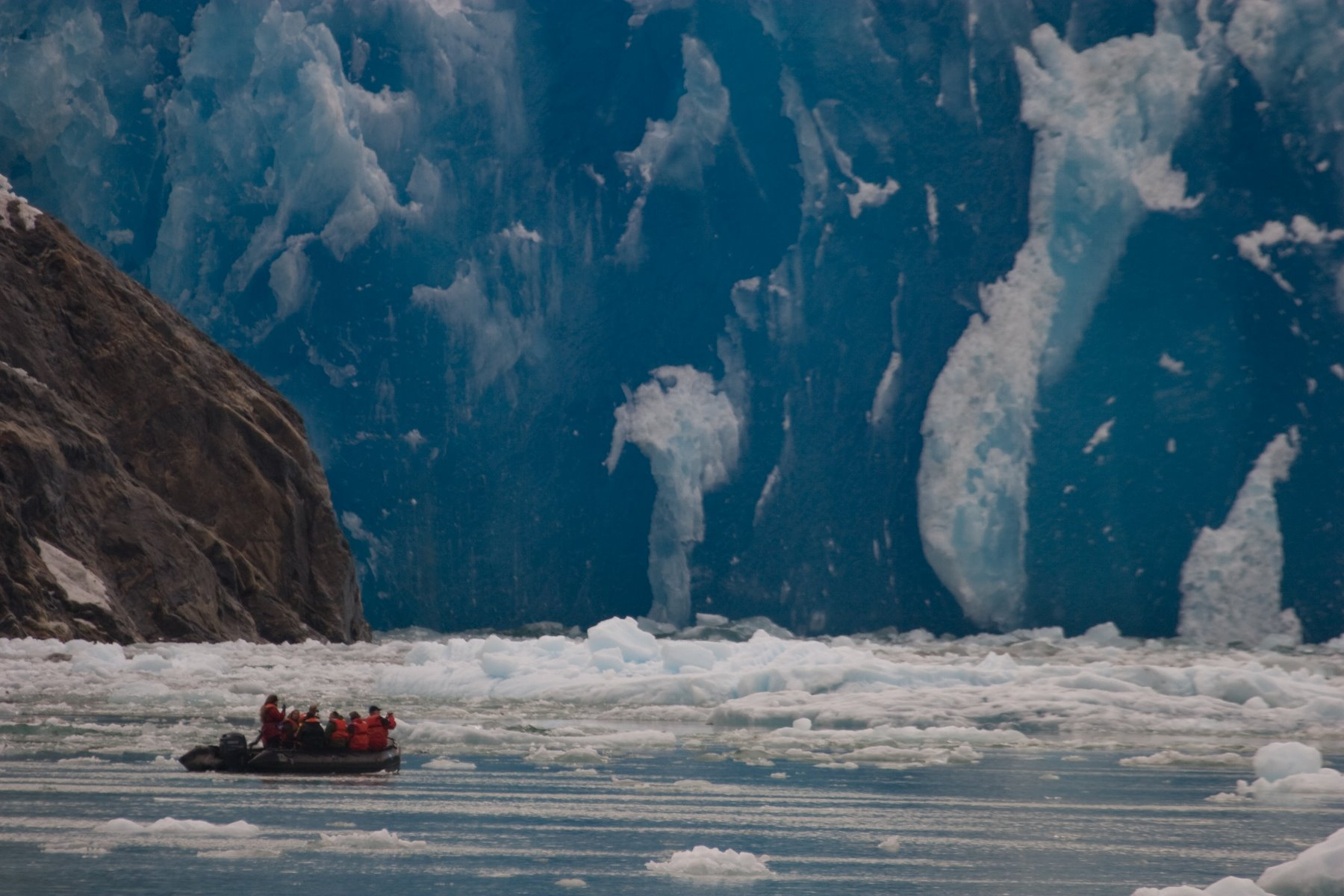 South Sawyer Glacier in Tracy Arm is under intense pressure.
