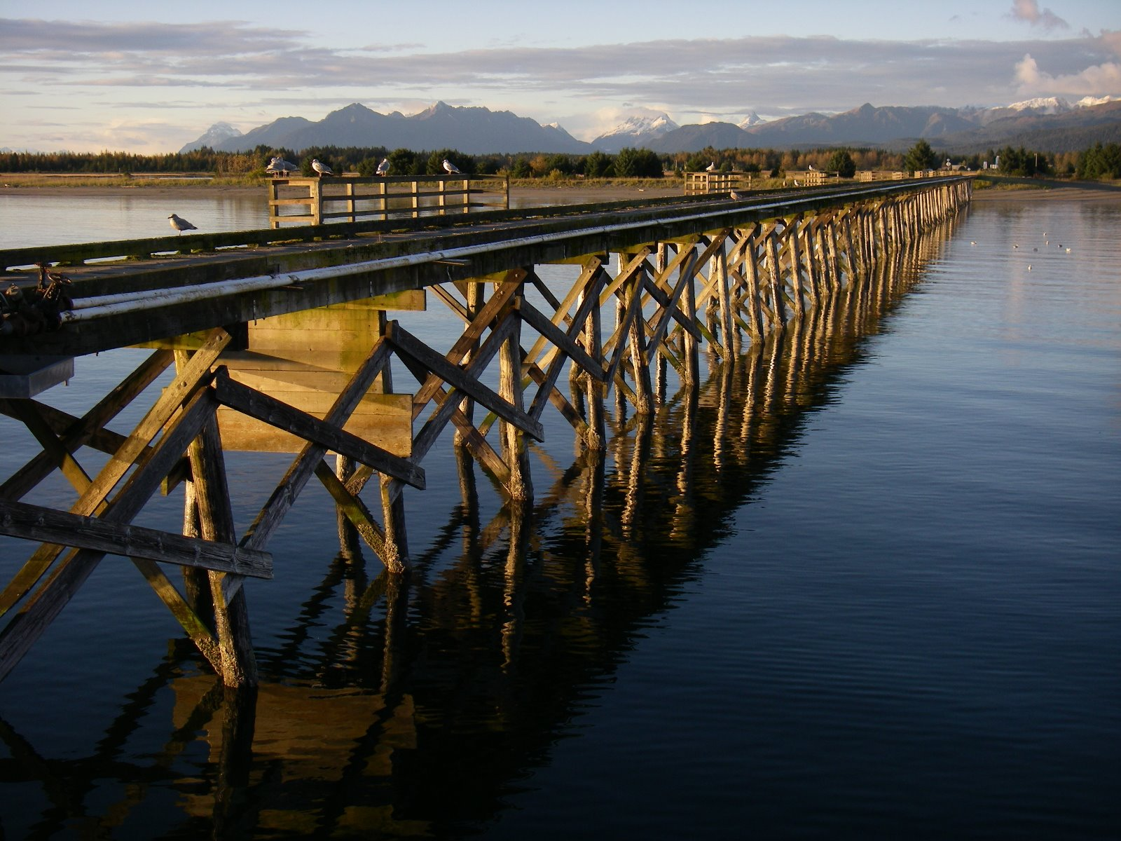 Docks are incredibly important facilities for isolated Southeast Alaska towns.