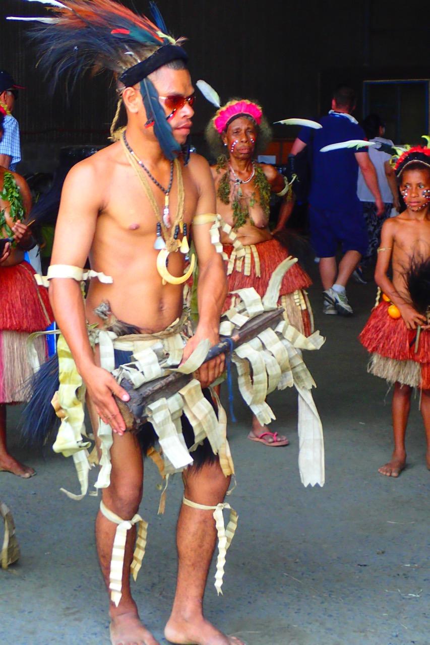Alotau Dancers - PNG