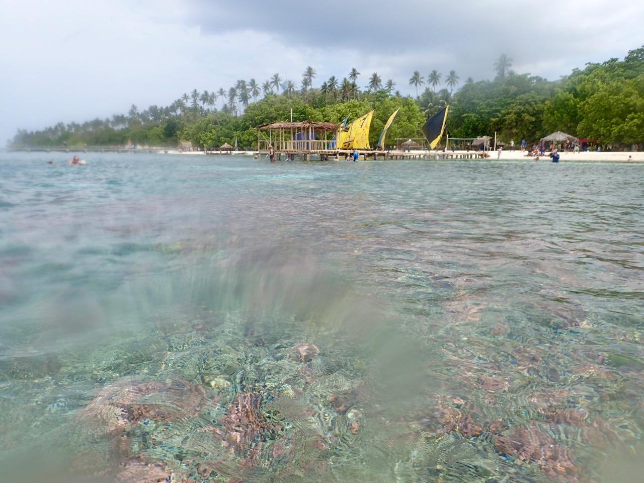 Kitava Island jetty