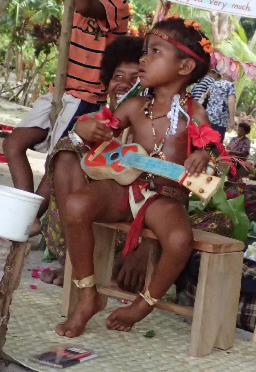 Kitava Island children