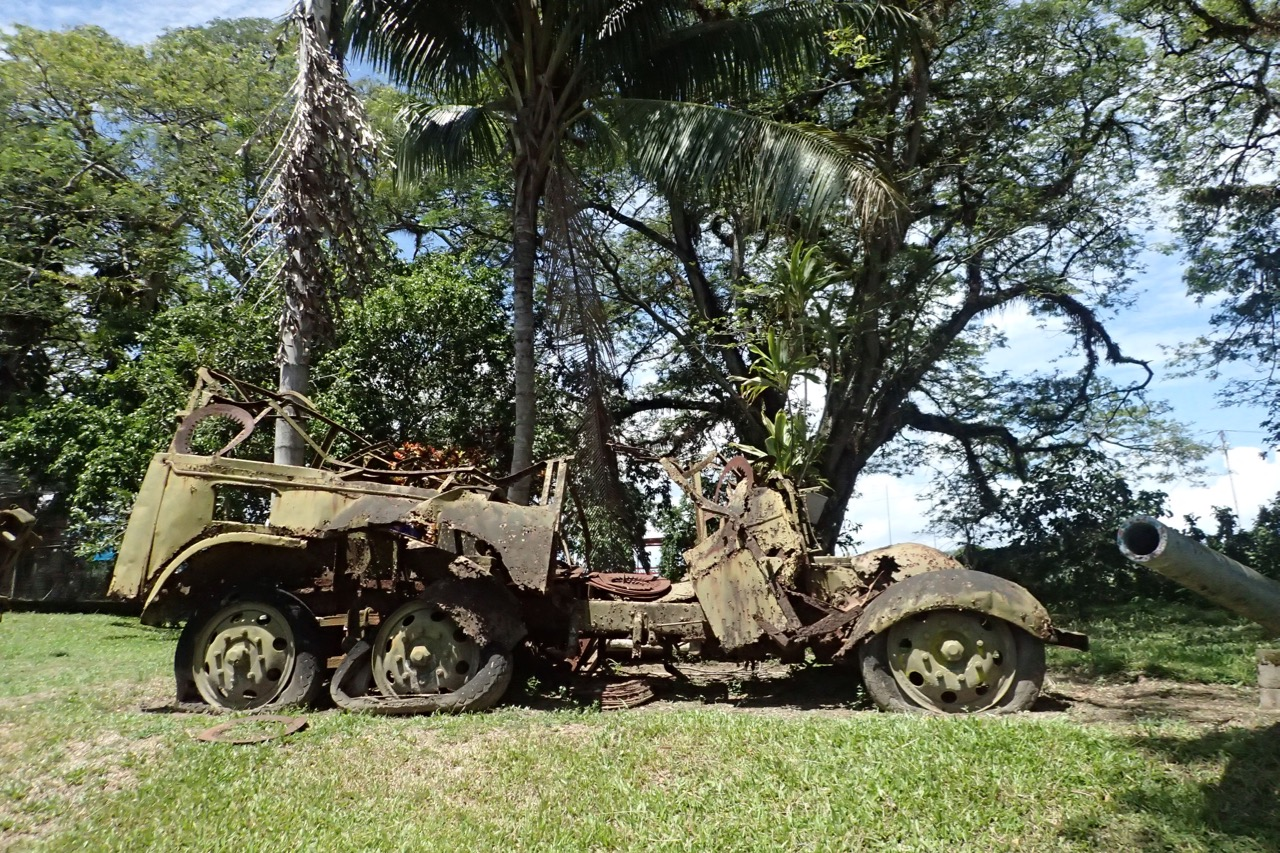 Kokopo War Museum WWII jeep