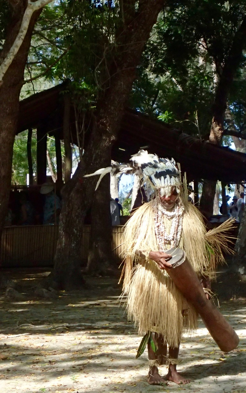 Doini Island dancer
