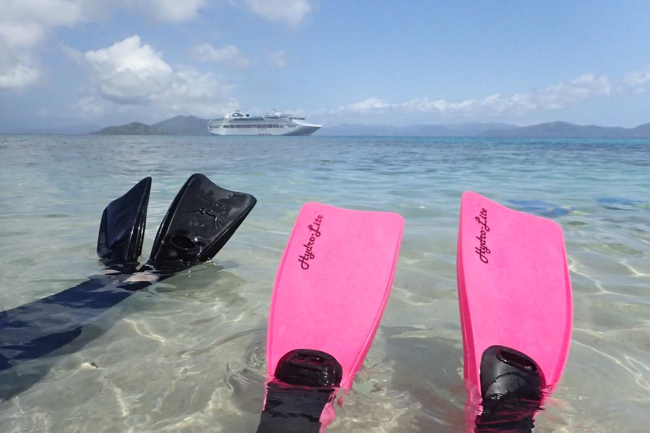 Doini Island cruise ship