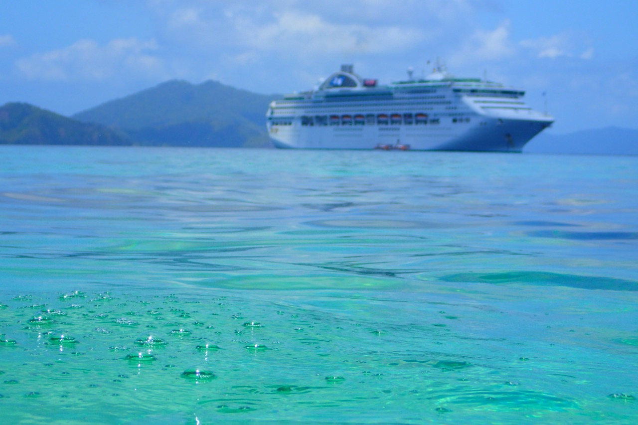 Doini Island cruise ship