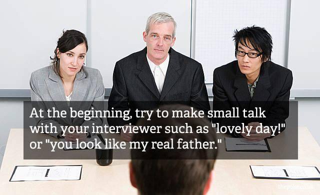inspiration job posters small talk