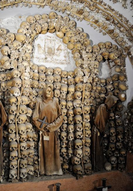 capuchin monk crypt rome